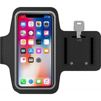 Sport Armband voor Samsung hardlopen Spatwatervrij, Reflecterend / Neopreen / Comfortabel / Verstelbaar / Koptelefoon / Aansluitruimte en Sleutelhouder / Ultra dun / Waterproof