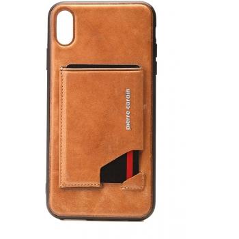 Pierre Cardin back cover iPhone Xr Bruin