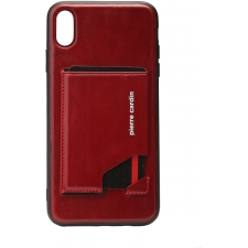 Pierre Cardin back cover iPhone Xr Rood