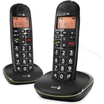 Huistelefoon 100 Zwart 2 en 1