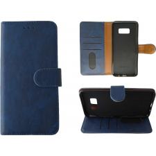 Huawei P10 Plus Hoesje Blauw ECHT LEER