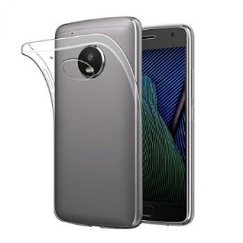 Doorzichtig Siliconen Hoesje Motorola Moto X (2017)
