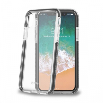 Celly Anti shock shield for iPhone X Zwart