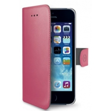 iPhone 5 Echt Leer Hoesje Roze