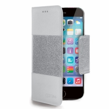 Apple iPhone 6 Plus Glitty Hoesje Grijs