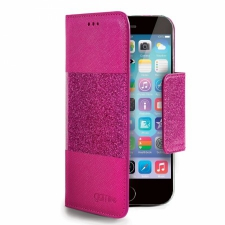 Apple iPhone 6/6S Glitty Hoesje Roze