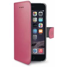 iPhone 6 Plus Echt Leer Hoesje Roze