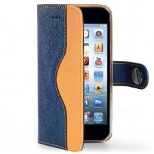 Apple iPhone 6/6S Hoesje Van Kwaliteit Oranje/Blauw