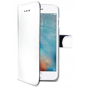 iPhone 8 Plus Echt Leer Hoesje Wit