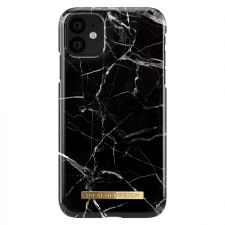 iDeal Fashion Case Black Marble iPhone 11/XR