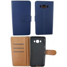 Samsung Galaxy J7 2016 100% Leer Hoesje Blauw