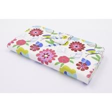 Samsung Galaxy J3 2017 'Bloemen en Insecten Tekening' Print Eco-Leer Hoesje