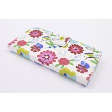 iPhone 7 'Bloemen en Insecten Tekening' Print Eco-Leer Hoesje