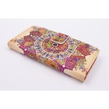 iPhone 7 'Boeddhistische Lotus' Print Eco-Leer Hoesje