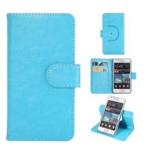 Sony Xperia C4 Hoesje Budget Blauw XXL