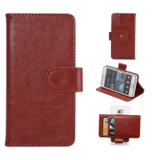 Sony Xperia X Compact Hoesje Budget Bruin L