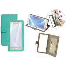 Samsung Galaxy A7 2017 Bookcase Doorzichtig Groen XXL