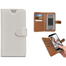 Huawei Mate S Hoesje van leer Wit XXL