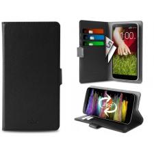 Motorola Moto G4 Plus Hoesje van echt leer zwart XXL