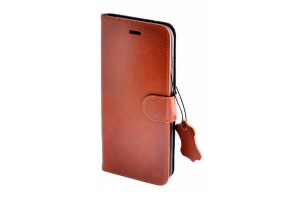 iPhone 8 Plus Hoge Kwaliteit ECHT LEREN Book Case Hoesje