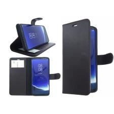 Samsung Galaxy A8 (2018) Echte leer zwart