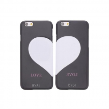BYBI Best Friends Case Combi set Black iPhone 6/6S