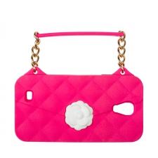 BYBI Flower Handbag Fuchsia Galaxy S4