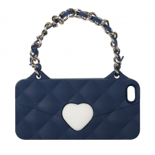 BYBI Love Handbag Blue iPhone 4