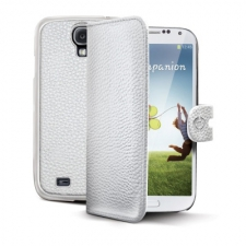 Celly Case Ambo 2-in-1 Galaxy S4 White