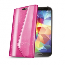 Celly Case Wally Lady Galaxy S5 Pink