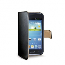 Celly Case Wally PU Galaxy Core Black