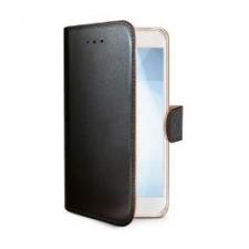 Celly Case Wally PU Galaxy J1 2016 Black