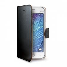 Celly Case Wally PU Galaxy J1 Black