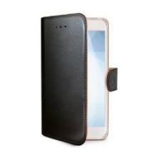 Celly Case Wally PU Galaxy J3 2016 Black