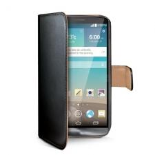 Celly Case Wally PU LG G3 Black