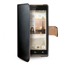 Celly Case Wally PU Wallet Black Ascend G6