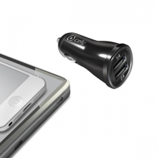 Celly Charger Car 2.1A Double USB Black