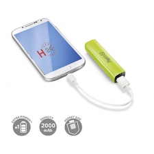 Celly Charger Power Bank Uni 2.000 Green