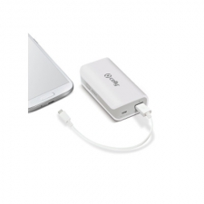 Celly Charger Power Bank Uni 4.000 White