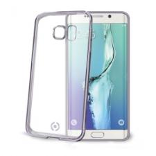 Celly Cover Gelskin Laser Galaxy S6 Edge Dark Silver