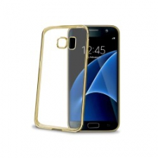 Celly Cover Gelskin Laser Galaxy S7 Gold