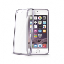 Celly Cover Gelskin Laser iPhone 6/6S Dark Silver