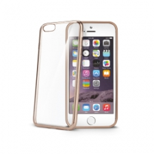 Celly Cover Gelskin Laser iPhone 6/6S Gold