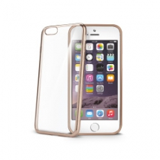 Celly Cover Gelskin Laser iPhone 6/6S Plus Gold