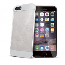 Celly Cover Glamme Glitter iPhone 6 Plus White