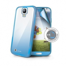 Celly Cover Sunglass Galaxy S4 Light Blue