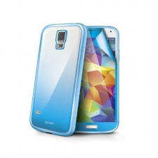 Celly Cover Sunglass Galaxy S5 Light Blue