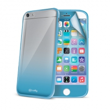 Celly Cover Sunglass iPhone 6 Light Blue