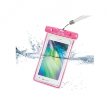 Celly Cover Waterproof Bag Pink