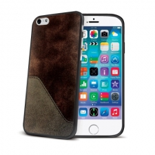 Celly Mix cover Brown for iPhone 6